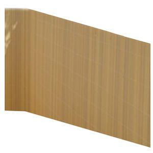 Balkonsichtschutz Bambus Optik 90x300 Kunststoff Sichtschutzmatte Balkonverkleidung Balkonbespannung