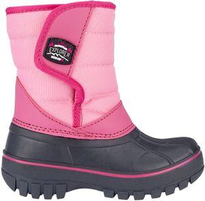 Winter-grip Kinder Schneestiefel Jr Mountain Kid Anthrazit/Rosa/Fuchsia Winter-Schuhe, Größe:27/28