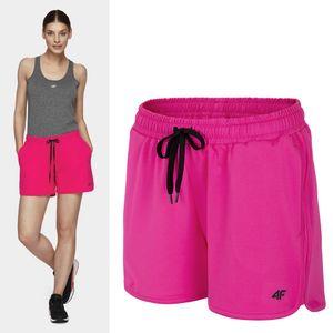 4F - Damen Fitness Short - pink, Damengröße:38/M