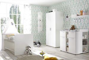 BEGA 83-331-17 Babyzimmer Bibo 3-tlg. Set in Weiß