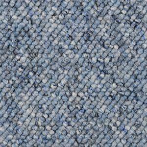 Teppichboden, Auslegware, Meterware, 400 cm x 400 cm, hellblau, Blauer Engel , Schlinge