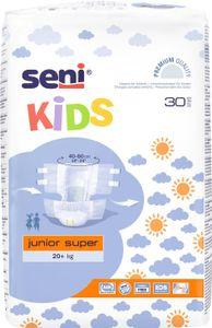 SENI Kids Junior Super Inkontinenzhosen, 20+ kg, 120 Stück, Inkontinenzwindeln für Kinder, Inhalt:120 Stück