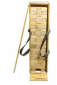 Wackelturm Crib - bis 150 cm  - Pinienholz - Eco  India inkl. Kiste India's Pine-hout