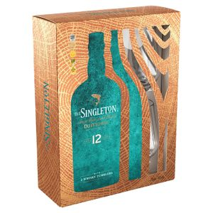 The Singleton of Dufftown 12 Jahre Single Malt Scotch Whisky + 2 Gläser Geschenkset | 40 % vol | 0,7 l