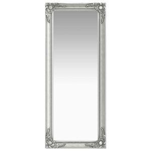 Wandspiegel im Barock-Stil 50 x 120 cm Silbern