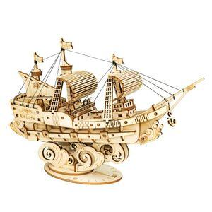 modellbausatz Sailing Ship 12 cm Holz 118 Stück