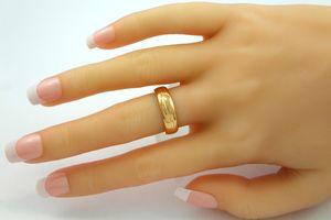Diamant Solitär Ring Rosegold 750 Diamant feinste massive Designer Goldschmiedearbeit 10,5g Unikat