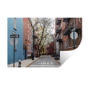Wandaufkleber - New York - Amerika - NYC - 120x80 cm - Repositionierbar