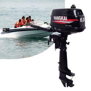 6PS 2 Takt Außenborder Bootsmotor Benzinmotor Außenbordmotor Bootsport Wasserkühlung Outboard Motor CDI 4.4KW
