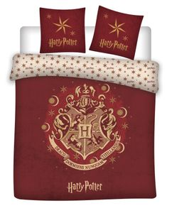 Warner Bros. bettbezug Harry Potter140 x 200 cm PE rot
