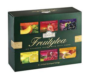 Ahmad Tea- Fruitytea 6 verschiedene Früchte Tee Sorten als Geschenkbox