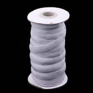 14 Meter Gummiband zum Nähen 6mm Breit Wäschegummi Gummizug Weiß elastisches Band Spule Nähband Flach Elastische Schnur