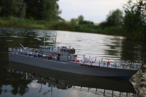 RC Torpedoboot SEA PATROL ferngesteuertes Schiff Boot Kriegsschiff Marine RTR