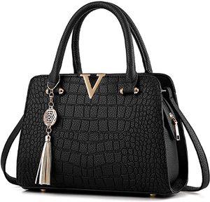Damen Handtaschen Schulterbeutel, Frauen Stilvolle PolyurethanDesigner Schultertasche Taschen Umhängetasche Geschenk Zum Muttertag