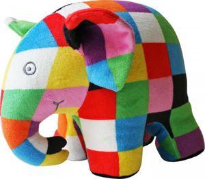 Elefant Plüsch Regenbogen Rainbow Elmer  Stofftier ca. 21cm