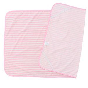 Bettschutzeinlage Wasserdicht Kinderbett Babybett Unterlage Betteinlage ( 70 x 120 cm Rosa + Weiß