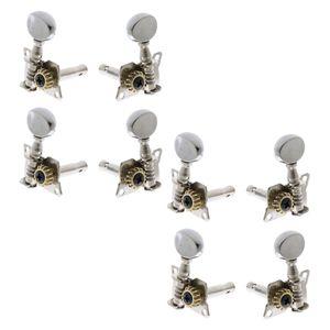 8x Gitarren Stimmwirbel Keys Machine Heads Tuner für Ukulele Guitar Uke