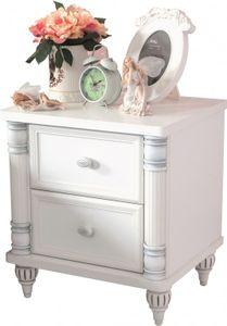 Cilek ROMANTIC Nachttisch Nachtkonsole Nachtkästchen Kinderzimmer Weiß