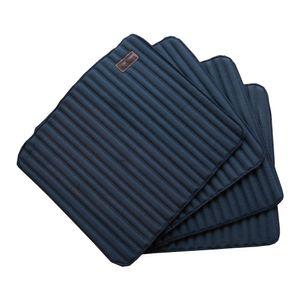 Kentucky Horsewear Bandagenunterlagen für die Arbeit 4er-Set 45 x 30 cm - Marineblau