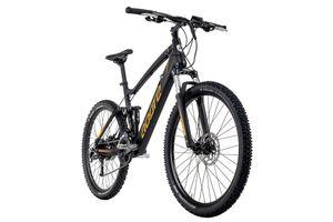 Alu MTB Pedelec 27,5'' Adore Xpose E-Bike Schwarz 250 Watt Li-Ion 36V/14 Ah/504 Wh 27 Gänge
