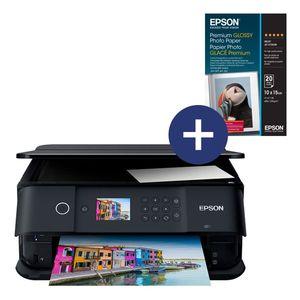 Epson Expression Premium Xp-6000; Farbe: Schwarz