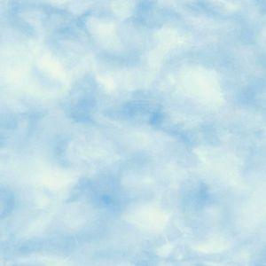 Selbstklebende Tapete Wolken blau 52x100cm