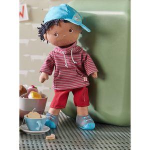 HABA Puppe William, Stoffpuppe, Anziehpuppe, Kinderpuppe, ab 18 Monaten, 306252