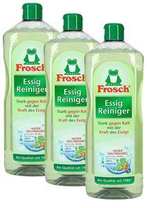 Frosch Essig Reiniger (3 x 1 l)