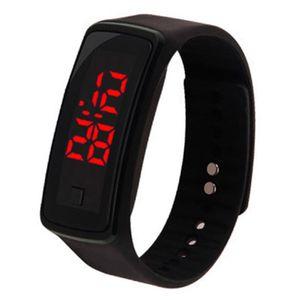 Led Uhr Led Sportuhr Led Digitaluhr Mode Sportlich Silikonbandverschluss Geschenk verstellbar