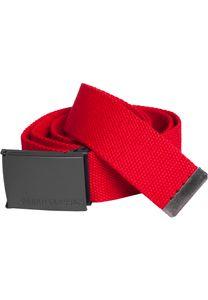 Urban Classics - Canvas Belt Gürtel Red