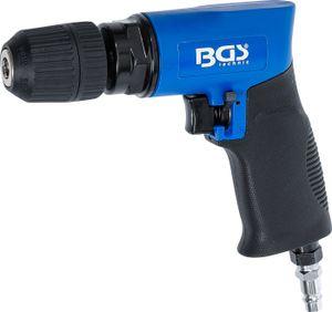 BGS technic Druckluft-Bohrmaschine   mit 10 mm Schnellspann-Bohrfutter   umschaltbar