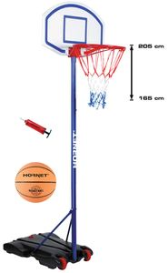 Hudora Basketballständer Hornet 71625 m. Ball u. Pumpe