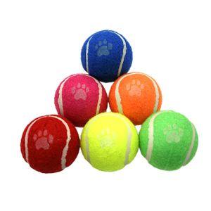 Dog Life Tennisbälle (6 Stück/Packung) TR183 (Einheitsgröße) (Bunt)