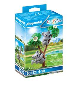 PLAYMOBIL Family Fun 70352 2 Koalas mit Baby
