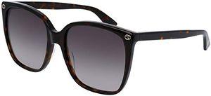 Sonnenbrille Gucci GG0022/S 003 Braun