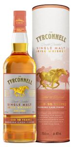 The Tyrconnell 10 Jahre Madeira Cask Finish Single Malt Irish Whiskey in Geschenkpackung   46 % vol   0,7 l