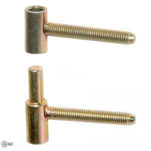 Einbohrband Einbohrbänder Innentürbänder Türbänder Türband 13 mm Gelb Verzinkt