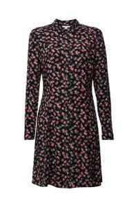 EDC Women Kleid, Farbe:BLACK 3, Größe:38