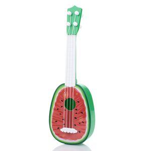 Kinder Kinder Wassermelone Ukulele Uke 4 Saiten Kleine Gitarre Lernspielzeug Geschenk