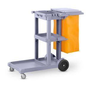 Ulsonix Reinigungswagen mit Wäschesack und Deckel