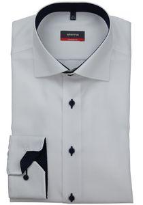 Eterna Modern Fit Hemd Langarm Fein Oxford Weiß 8100/00/X13K, Größe: 38