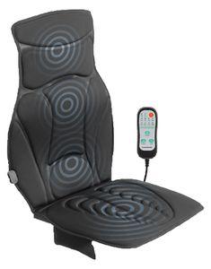 Massagesitzauflage Rücken Shiatsu Massagematte Sitzauflage für Büro und Auto 12v