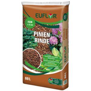 EUFLOR Pinienrinde fein 7-15mm naturrein, 60 Liter