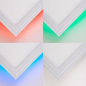 BRILLIANT ALLIE LED Aufbaupaneel 59,6 cm Metall / Kunststoff Weiß