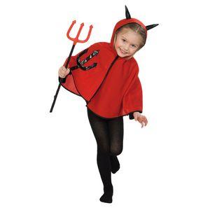 Teufelchen-Cape Kinder-Kostüm
