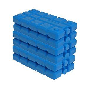 6er Set Kühlakkus blau 200 ml