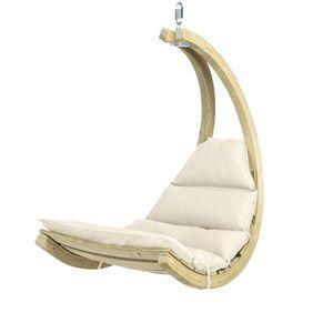 Amazonas Swing Chair Hängeliege Creme Ohne Gestell