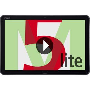 HUAWEI MediaPad M5 Lite 10 (64GB) LTE Tablet-PC grau 10,1 Zoll Android LTE/4G