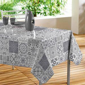 Wachstuchtischdecke 140x240 Tischdecke Gartentisch Wachstuch Abwaschbar Abstrakt