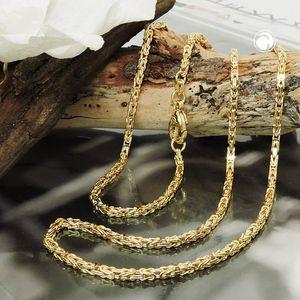 Königskette ca.2x2mm 14Kt GOLD 50cm
